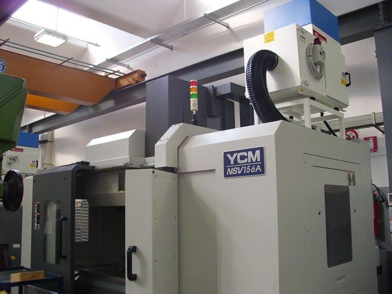 AR Filtrazioni | Depuratori nebbie oleose e fumi per Centri di lavoro CNC YCM