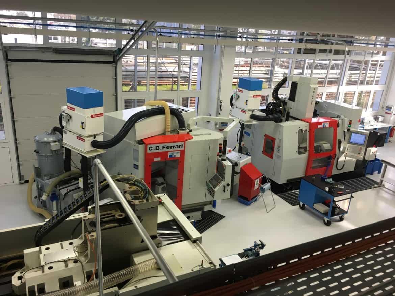 AR Filtrazioni Centri di lavoro CNC CB Ferrari