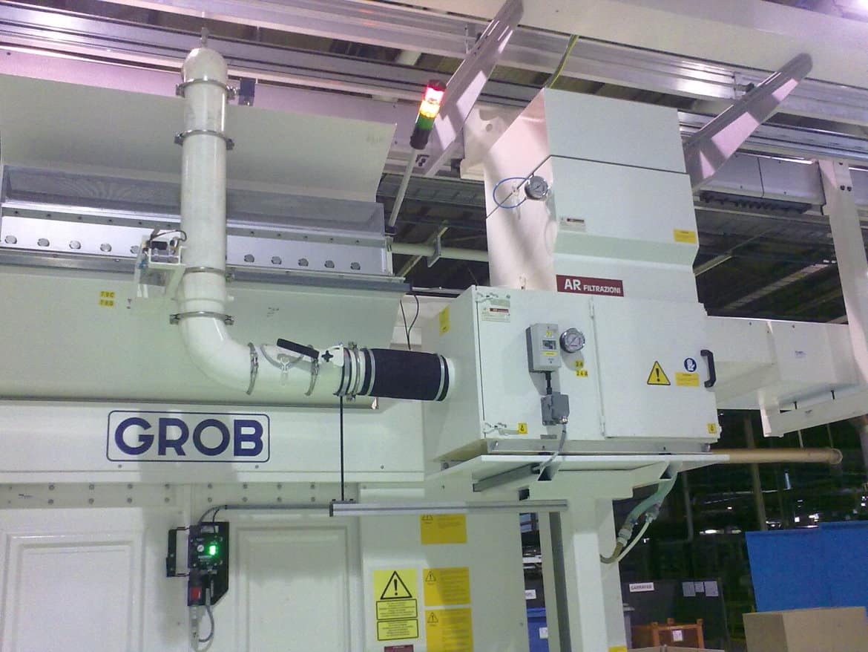 AR Filtrazioni Centri di lavoro CNC Grob