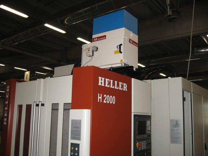 AR Filtrazioni Centri di lavoro CNC Heller