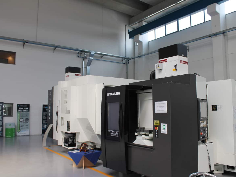AR Filtrazioni Centri di lavoro CNC Kitamura