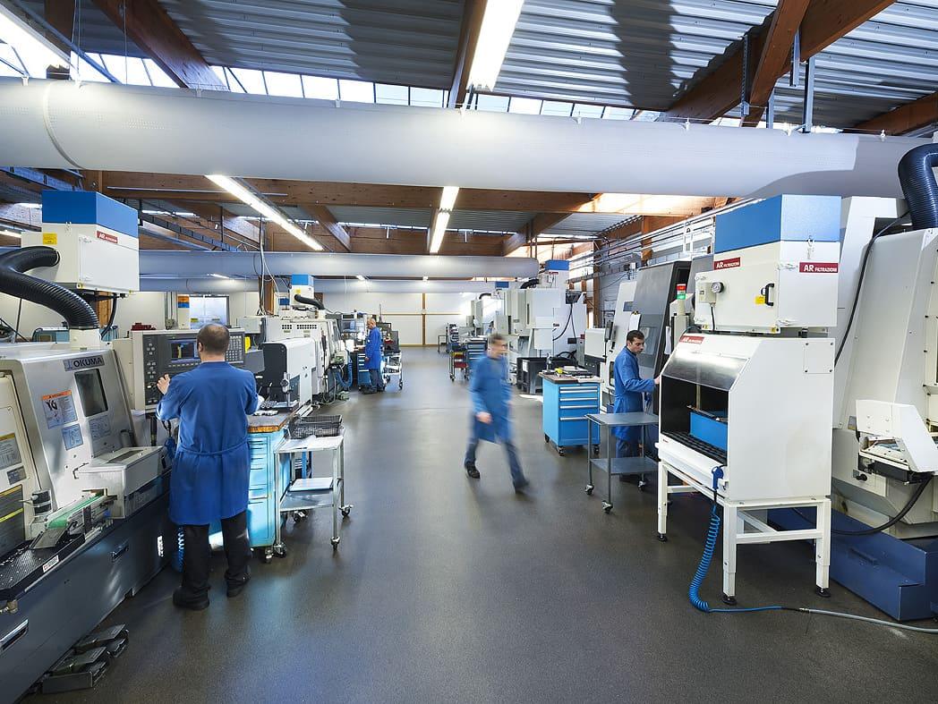 AR Filtrazioni Centri di lavoro CNC Mori Seiki