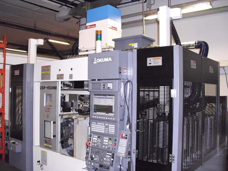 AR Filtrazioni Centri di lavoro CNC Okuma