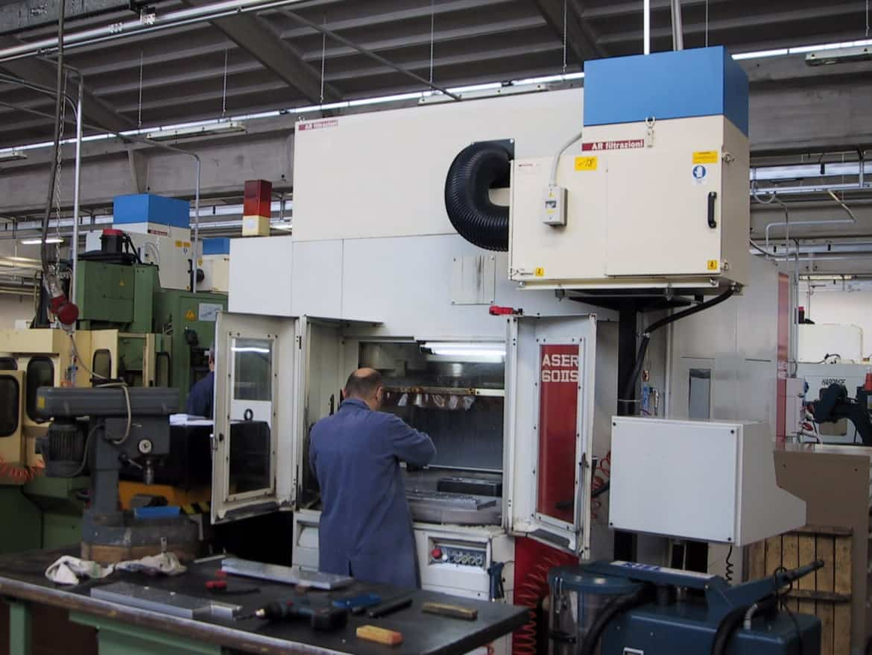 AR Filtrazioni Centri di lavoro CNC Quaser