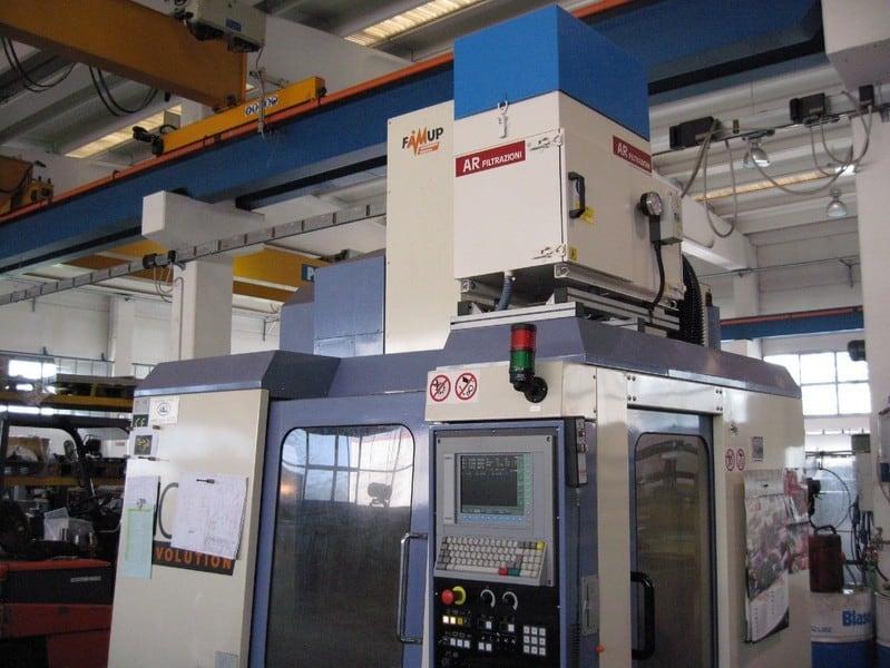 AR Filtrazioni Centri di lavoro CNC Famup