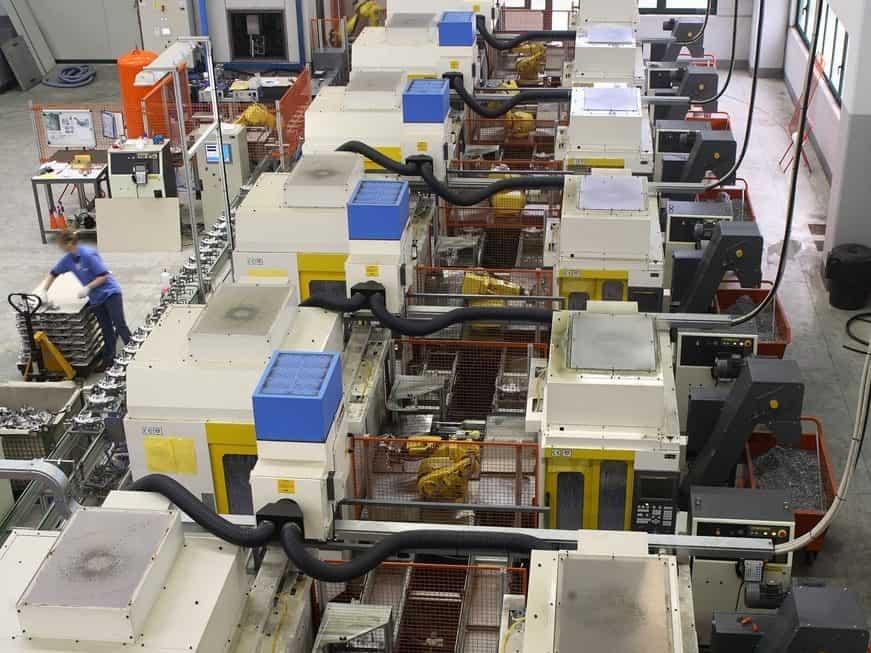 AR Filtrazioni Centri di lavoro CNC Fanuc