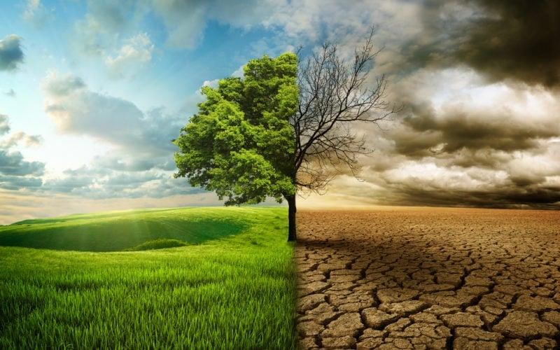 Der Klimawandel ist eine ethische und moralische Entscheidung