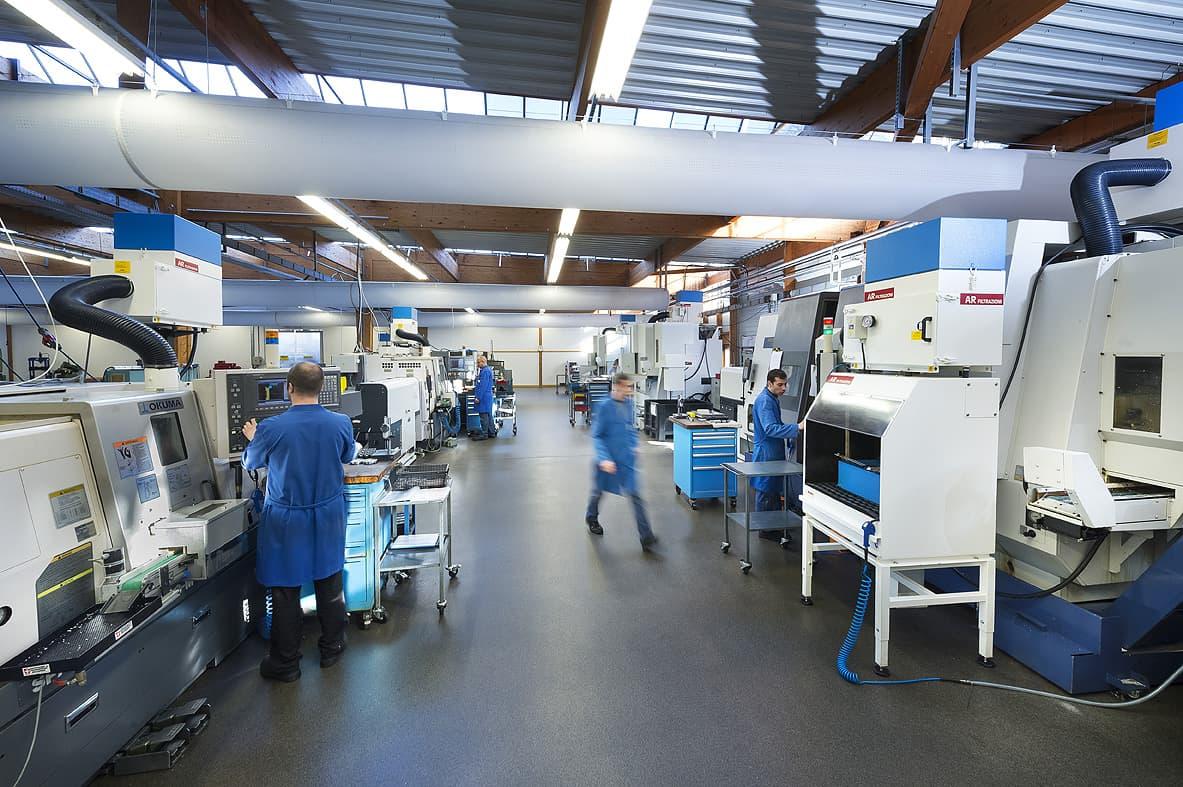 AR Filtrazioni aspirazione nebbie oleose per la pulizia degli ambienti