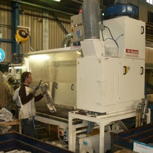 Punti di forza Coprogettazione impianto sbavatura magnesio