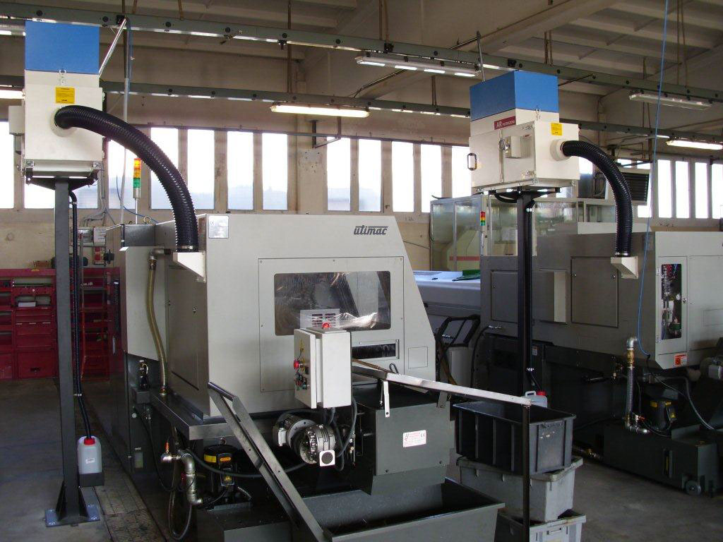 AR Filtrazioni Case History Portfolio Filtrazione Nebbie Oleose Utimac